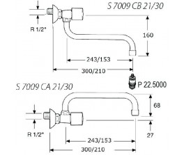 kvr-robinet-s7009ca21ch
