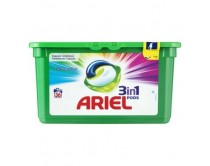 Ariel 3 in 1 pods 27sc Color&Style