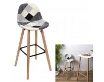 tabouret-de-bar-patchwork-gris-m2