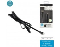 cable-charge-rapide-2a-sync-mfi-iphone-plat-2m-m8