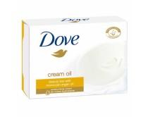 Dove barsoap 4x100gram cream and argan o