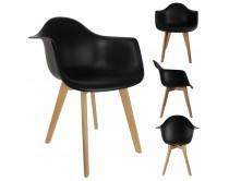 fauteuil-scandinave-noir-m2