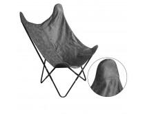 fauteuil-papillon-suedine-gris-m1