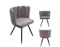 chaise-ariel-velours-gris-m2
