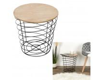 table-filaire-bois-et-metal-cyclone-noir-m6