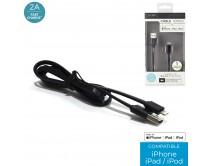 cable-chg-rapide-2a-sync-mfi-iphone-plat-noir-m12