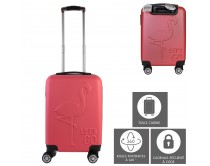 valise-cabine-embossee-flamant-28l-m2